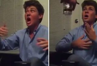 Guy's First Marijuana Experience Ends With Freakout...poor babe!