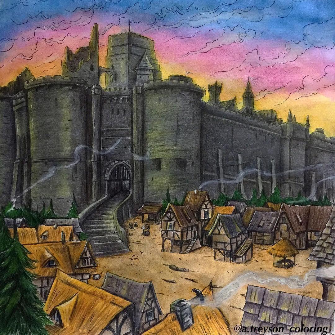 Наконец-то закончила замок ) /games of thrones # ...