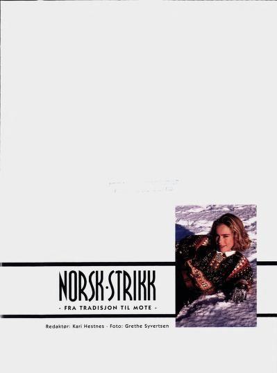 Photo of Norsk strikk : fra tradisjon til mote                                           …,  #fra #m…