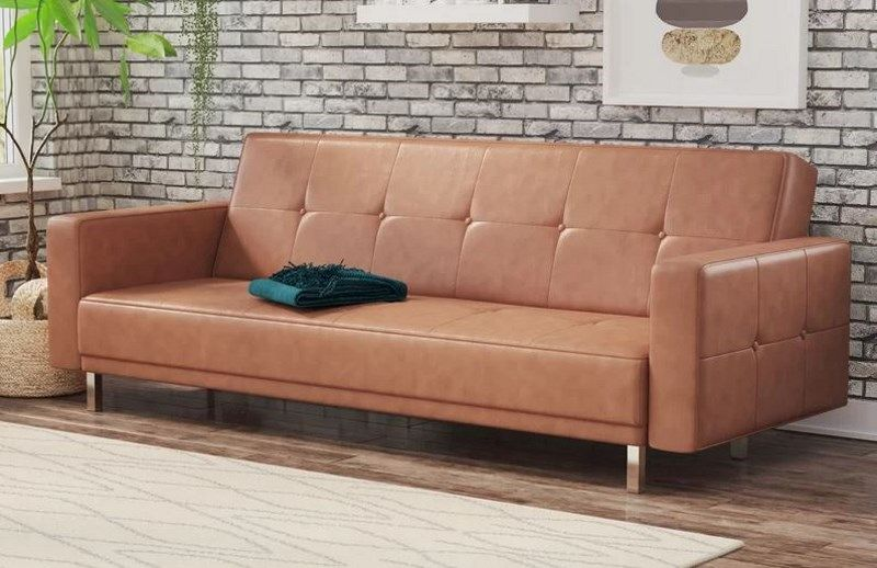 8 Cheap Faux Leather Couch Options That Look Expensive Faux