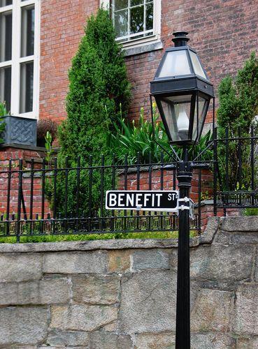 Benefit St Sign Jpg 369 500 Newport Rhode Island Providence Rhode Island Rhode Island
