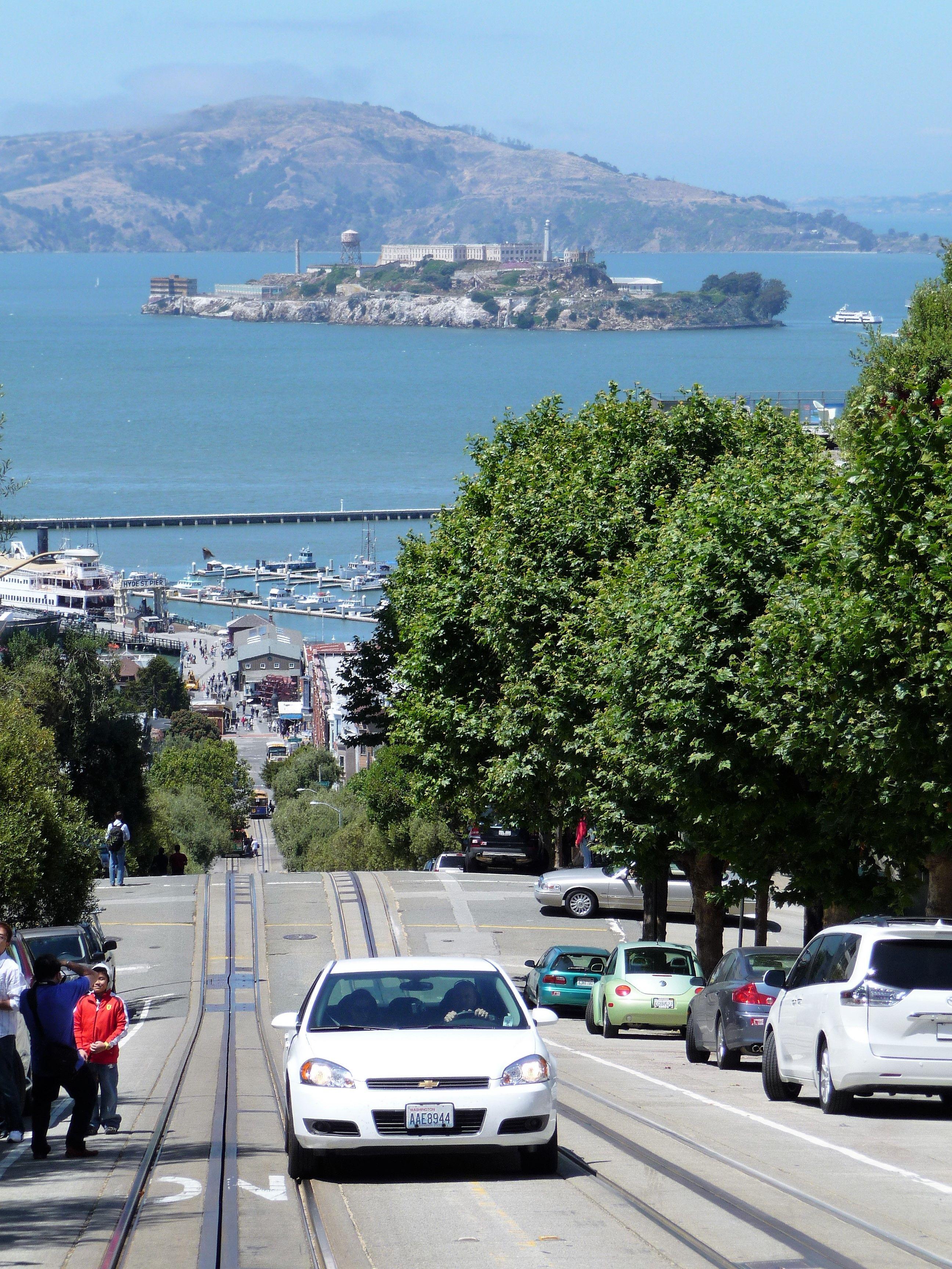 La prison d'Alcatraz juste en face ! Agence de Voyages @leclercblagnac