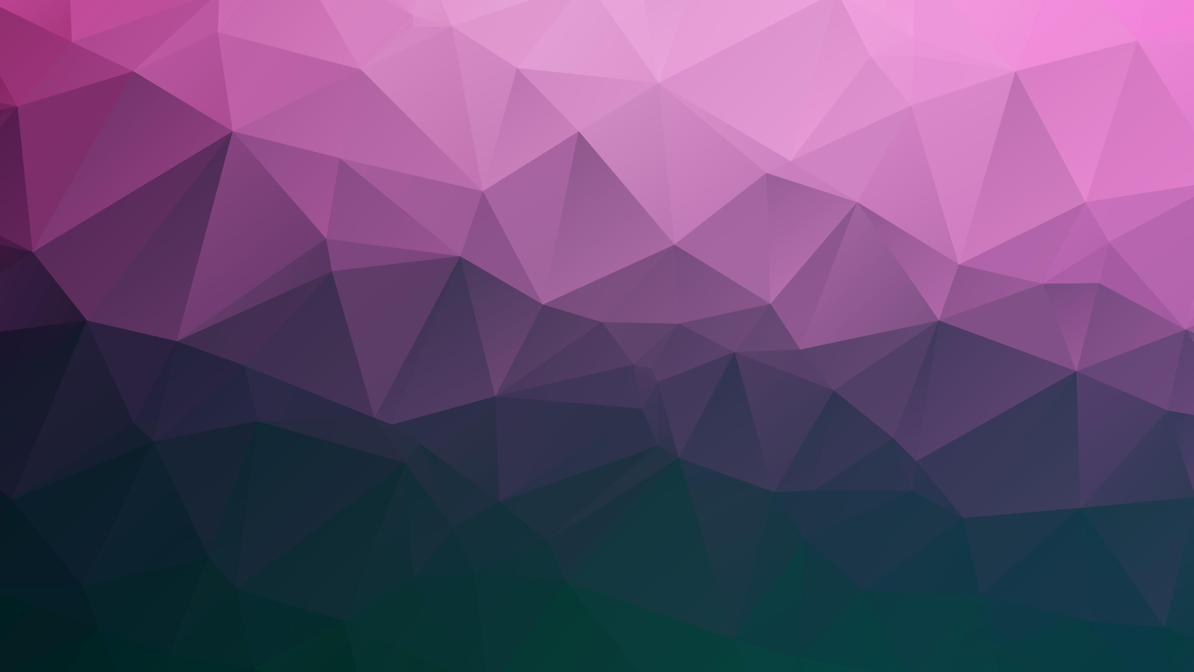 Polygon Triangles Geometric Gradient Lines 4k Wallpaper Hdwallpaper Desktop In 2020 Polygon Hd Wallpaper Geometric