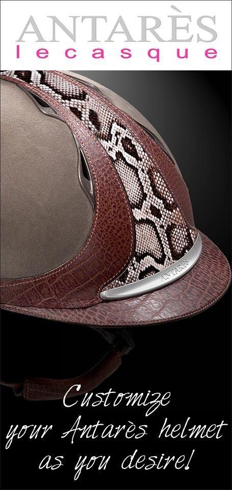 Custom Antares Helmet Drools Could You Imagine That I Would Never Wear It Xd Paardrijden Paarden