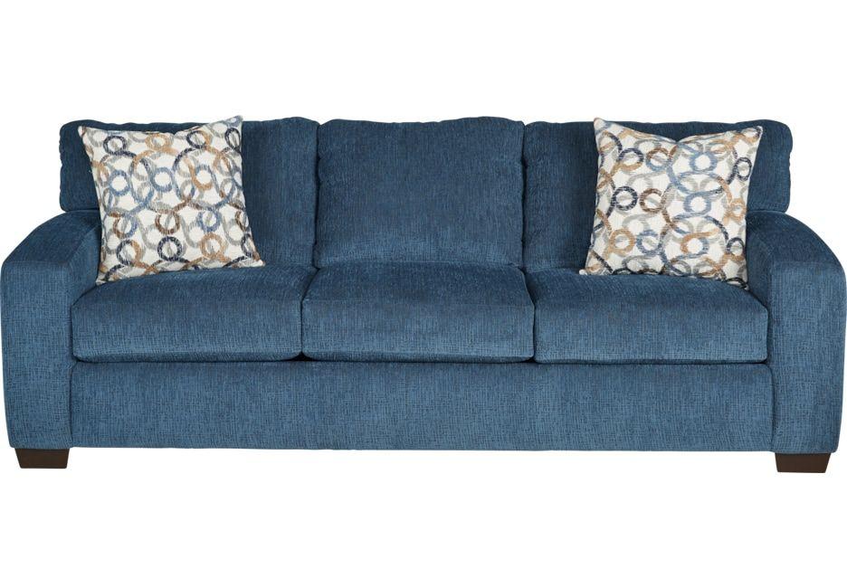 Lucan Navy Sleeper Sofa Sleepers Blue Navy Sofa Affordable