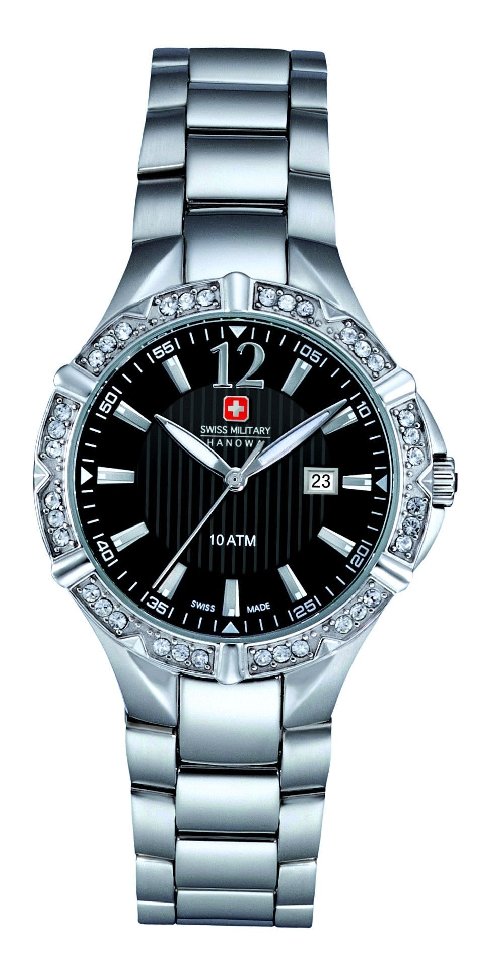 SWISS MILITARY HANOWA WATCHES Mod. LADY OFFICER SWISS MADE ...