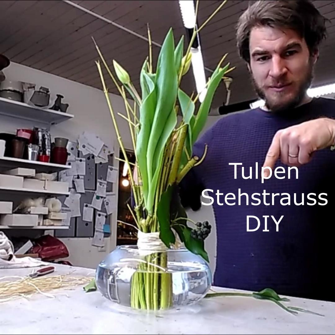 Photo of DIY bouquet of tulips