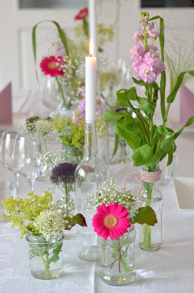 Machen Sie selbst Tischdekoration für den Abschlussball – eine einfache dekorative DIY-Idee für die Abschlussfeier und andere Festlichkeiten