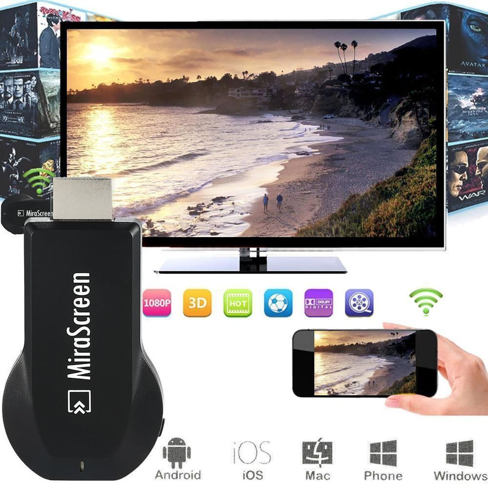 stream iphone to samsung tv miracast wifi airplay hdmi dongle display iphone 18043