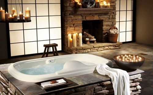 How to Create a Relaxing Spa-Like Bathroom bathroom cabinets - Hotel Avec Jacuzzi Dans La Chambre