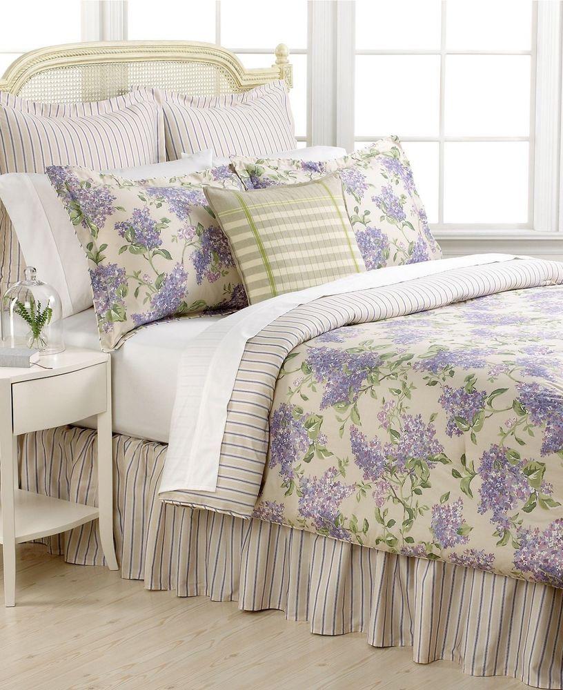 Details About Ralph Lauren Cape Elizabeth Euro Sham Lilac Purple