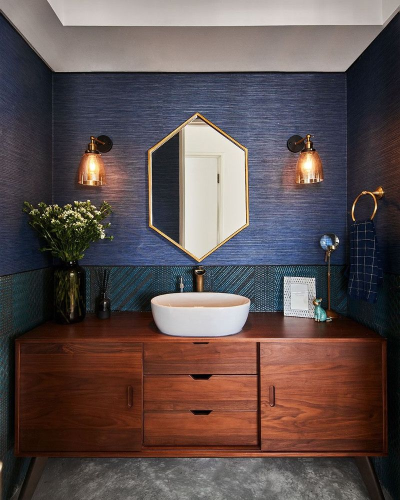 Get Inspired With Our Blue Bathroom Ideas Our Images Will Get Your Creative Juices Flowing T Blue Bathroom Decor Blue Bathroom Accessories Blue Bathroom Tile