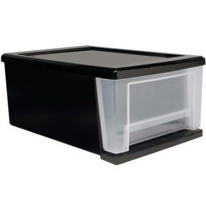 stackable storage bins drawers and best ideas design plastic decors idea