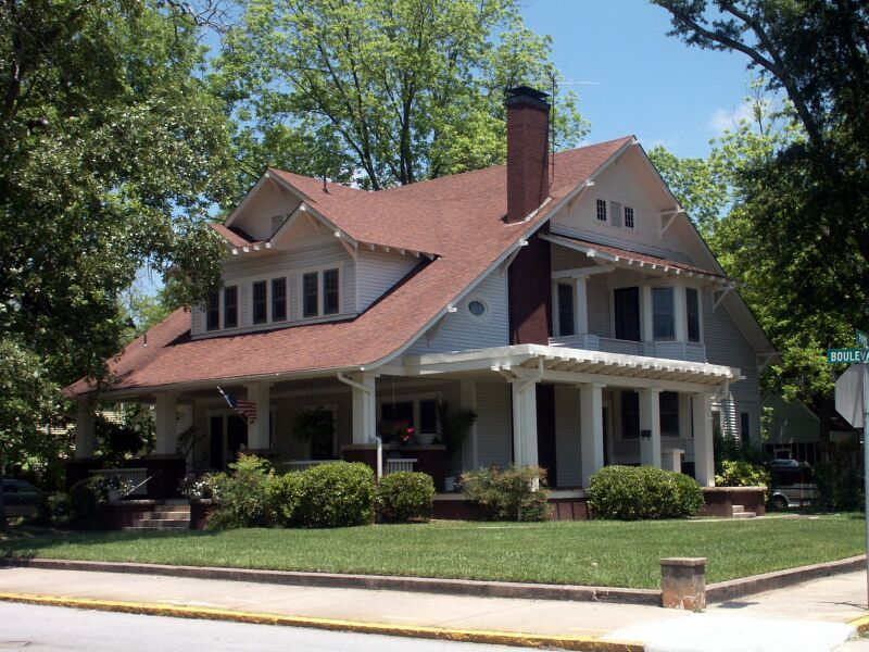 A home in gainesville ga craftsman house victorian