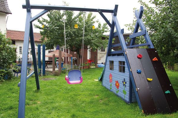 schaukel-kletter-rutsche-spielhaus | детская площадка | pinterest,