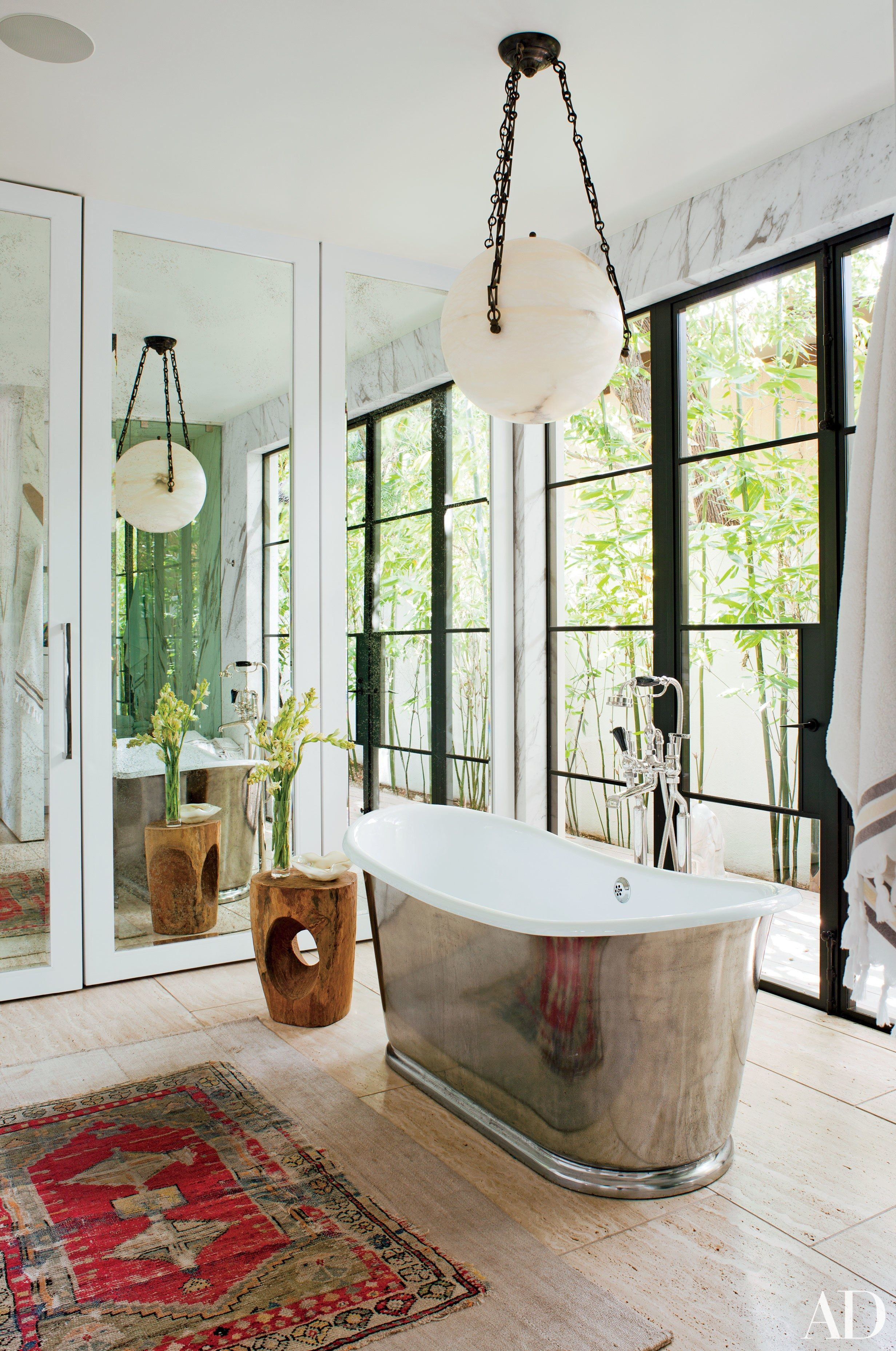 22 Luxury Bathrooms In Celebrity Homes | Architectural Digest
