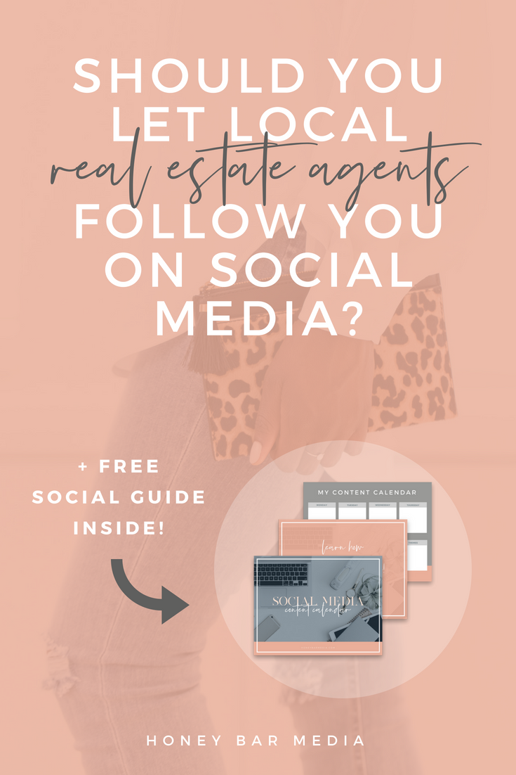 Social Media For Realtors Should You Let Local Realtors Follow You Social Media Realtor Social Media Real Estate Education