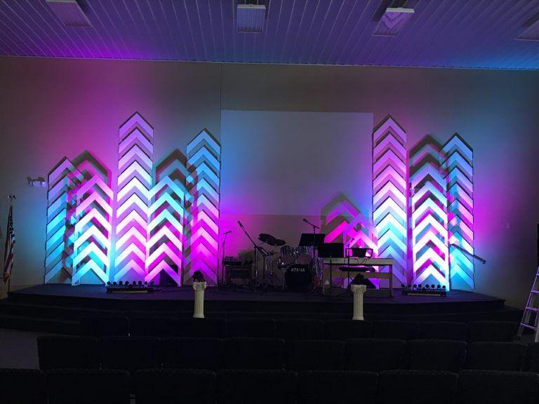 All The Way Up Church Stage Design Ideas Escenografia De