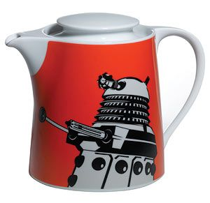 """Doctor Who"" Doctor Who: Teapot Dalek Orange at BBC Shop"