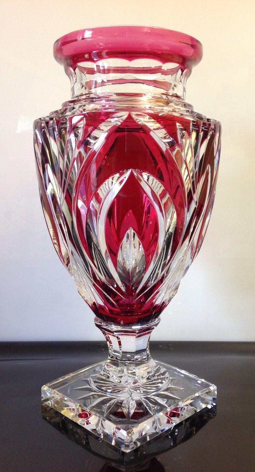 Toujours Cristal de S/èvres Claudie Vase en Verre cylindrique
