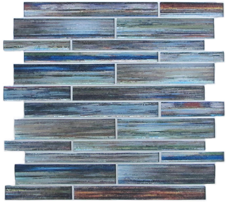 Chenille Murmure Sample Mosaic Glass Mosaic Tiles Glass