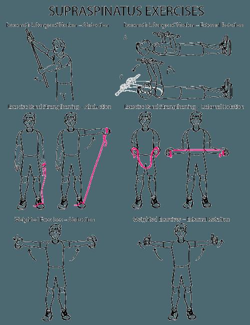 Supraspinatus Exercises mobility exercises shoulder