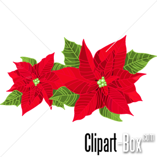 christmas flowers clipart - Google Search | Christmas | Pinterest ...