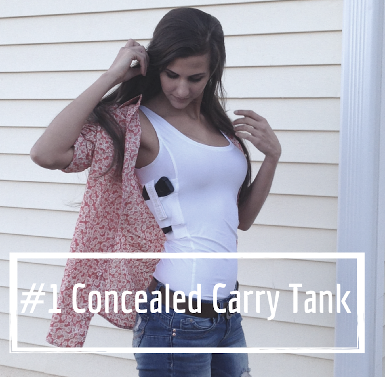 The #1 Concealed Carry Tank Top for Women. made in the USA by ...