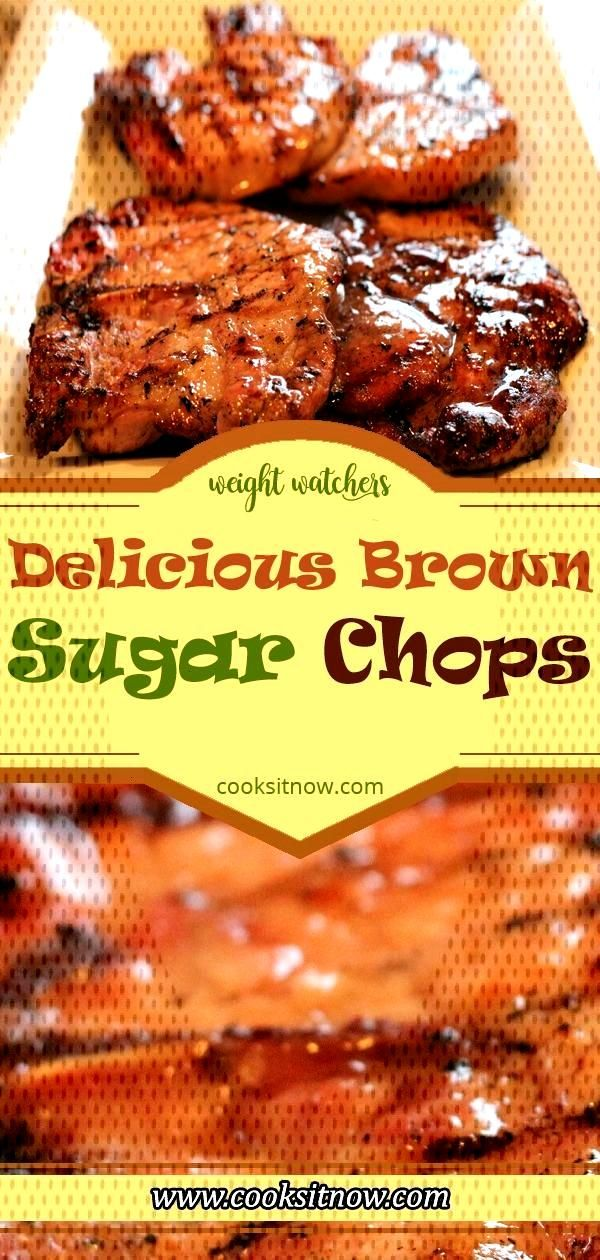 Delicious Brown Sugar Chops. Only 3 ingredients and ready in under 30 minutes!! ... - Best, ... De