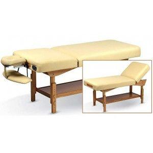 Table De Massage Fixe En Bois Table De Massage Pour Institut Table De Massage Cabinet De Rangement Salon Esthetique