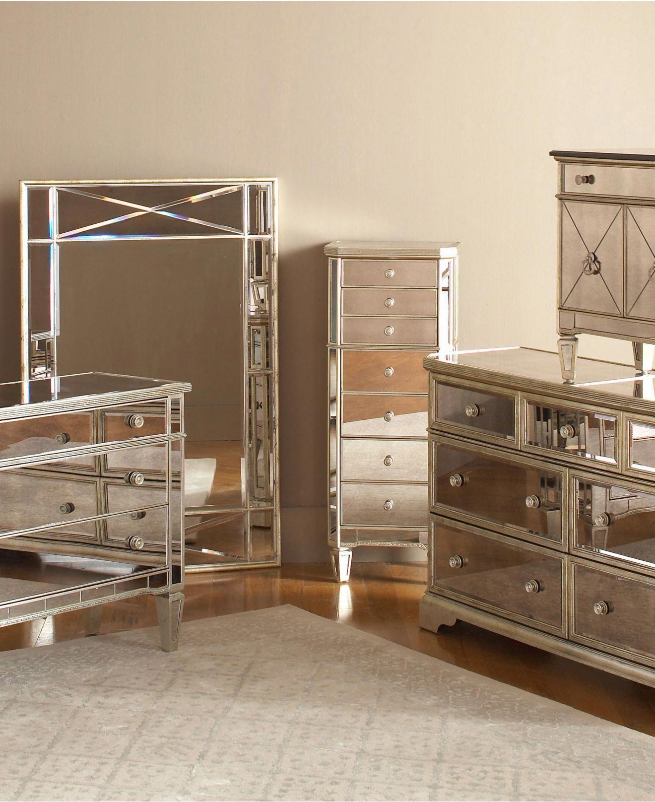 Marais mirrored furniture collection in deck furniture