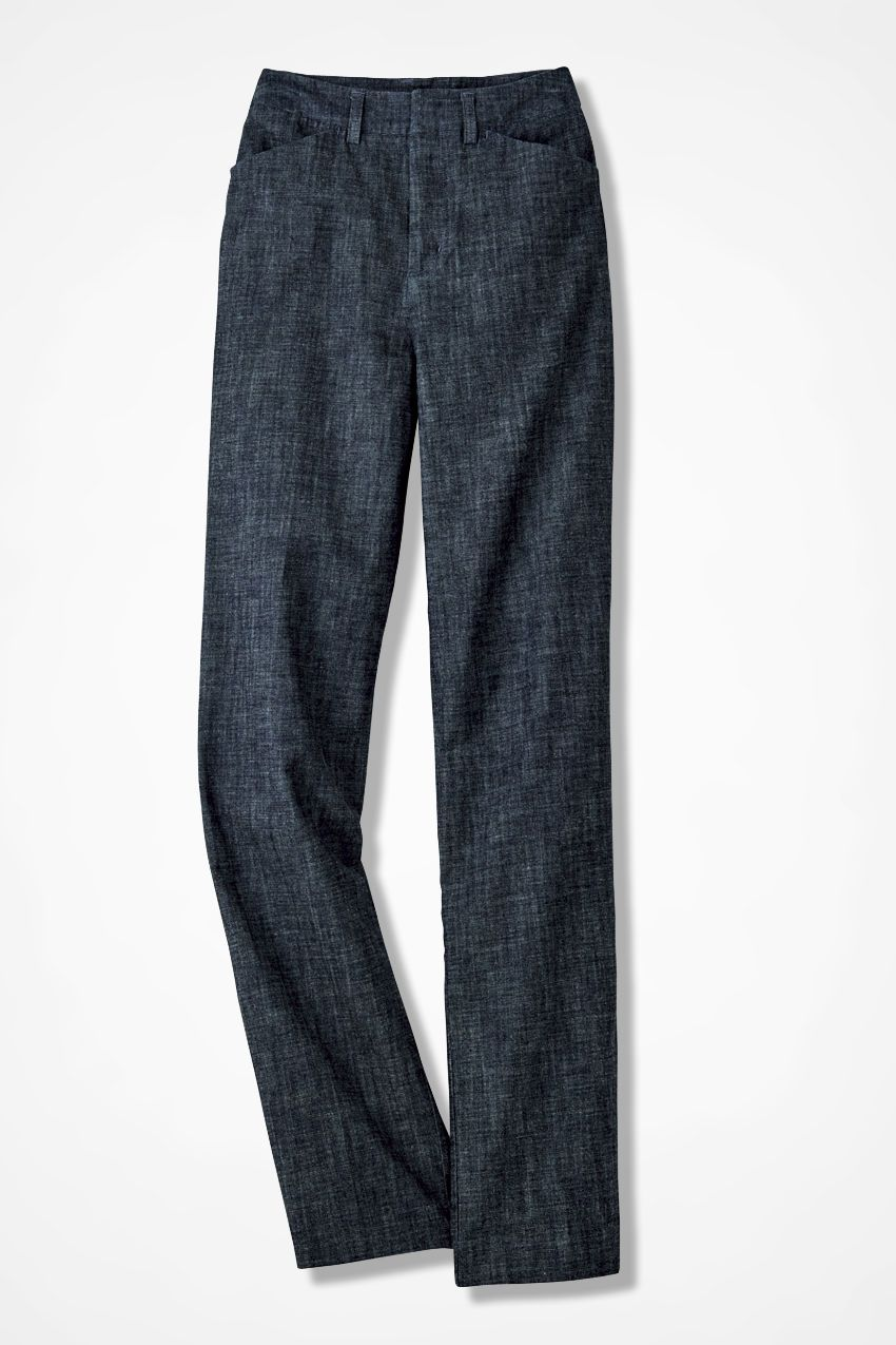 The Chambray Gallery Pant - Coldwater Creek
