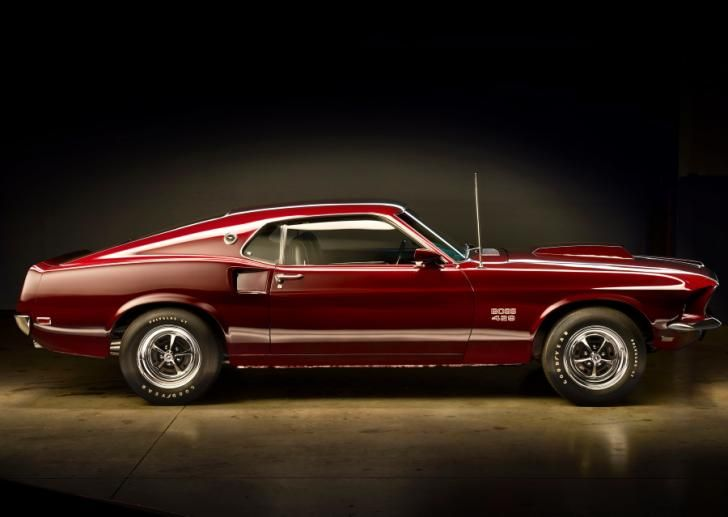 1969 Ford Mustang Boss 429 Coupe Rarest Muscle Cars From