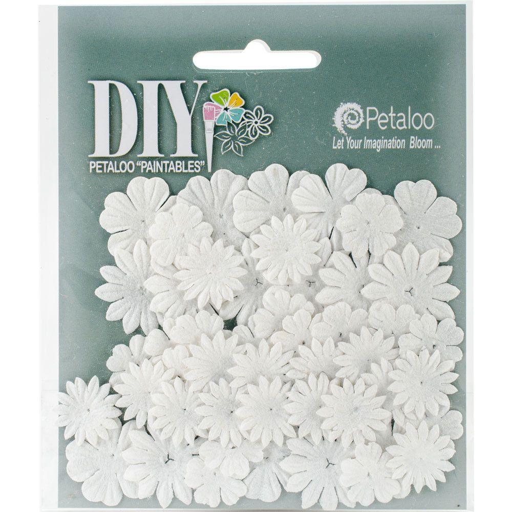 """DIY Paintables Mulberry Mini Flower Layers 1"""" - 48/Pkg"""