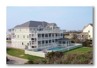 VRBO.com #367219ha - New 10 Bedroom Hatteras Vacation Home Across from the Ocean