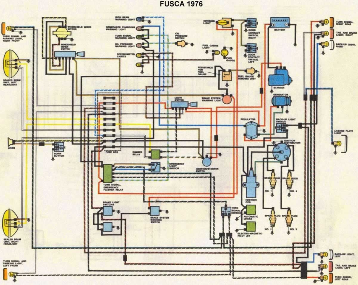Circuito Eletrico : Circuito eletrico fusca mapas cars