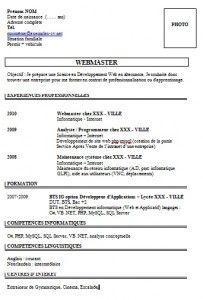 Exemples Exemples De Cv Management