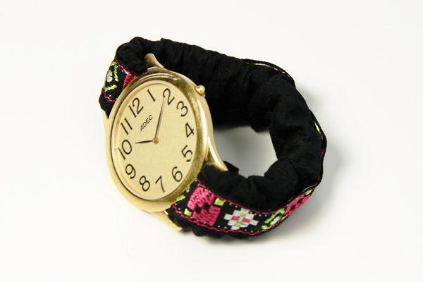 Nahanleitung Individuelles Uhrenarmband Handmade Kultur Uhrenarmband Nahanleitung Armband