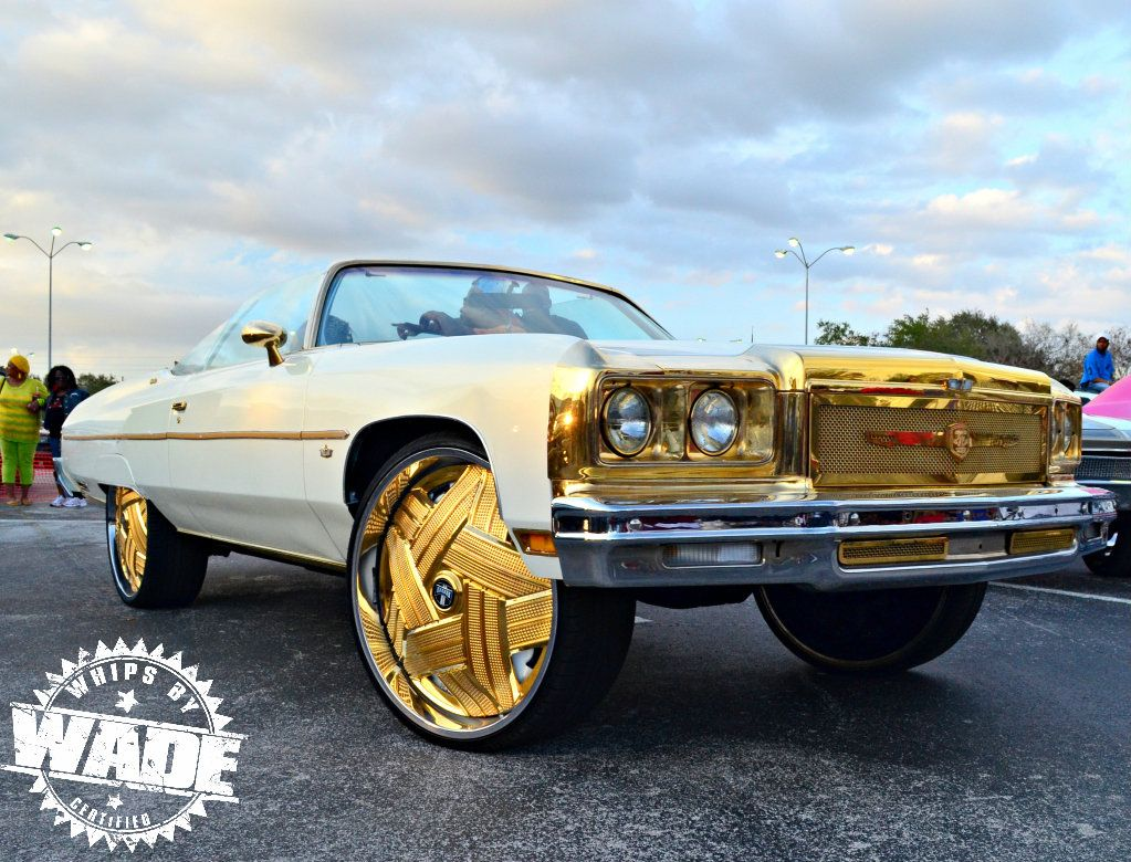 Donk Cars On Rims | All Gold Everythingggg ! Donk on GOLD 28"|1023|780|?|d3838cb733c49c7f0a4f71a86e6f5fc1|False|UNLIKELY|0.3458300530910492