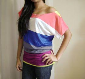 Ariana's Closet: DIY: Off the shoulder top