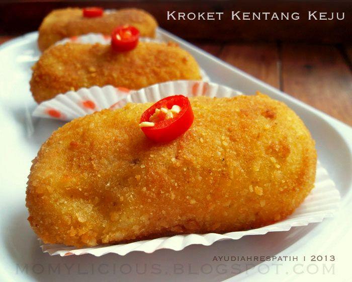 Kroket Kentang Keju Resep Masakan Indonesia Makanan Resep Makanan Bayi