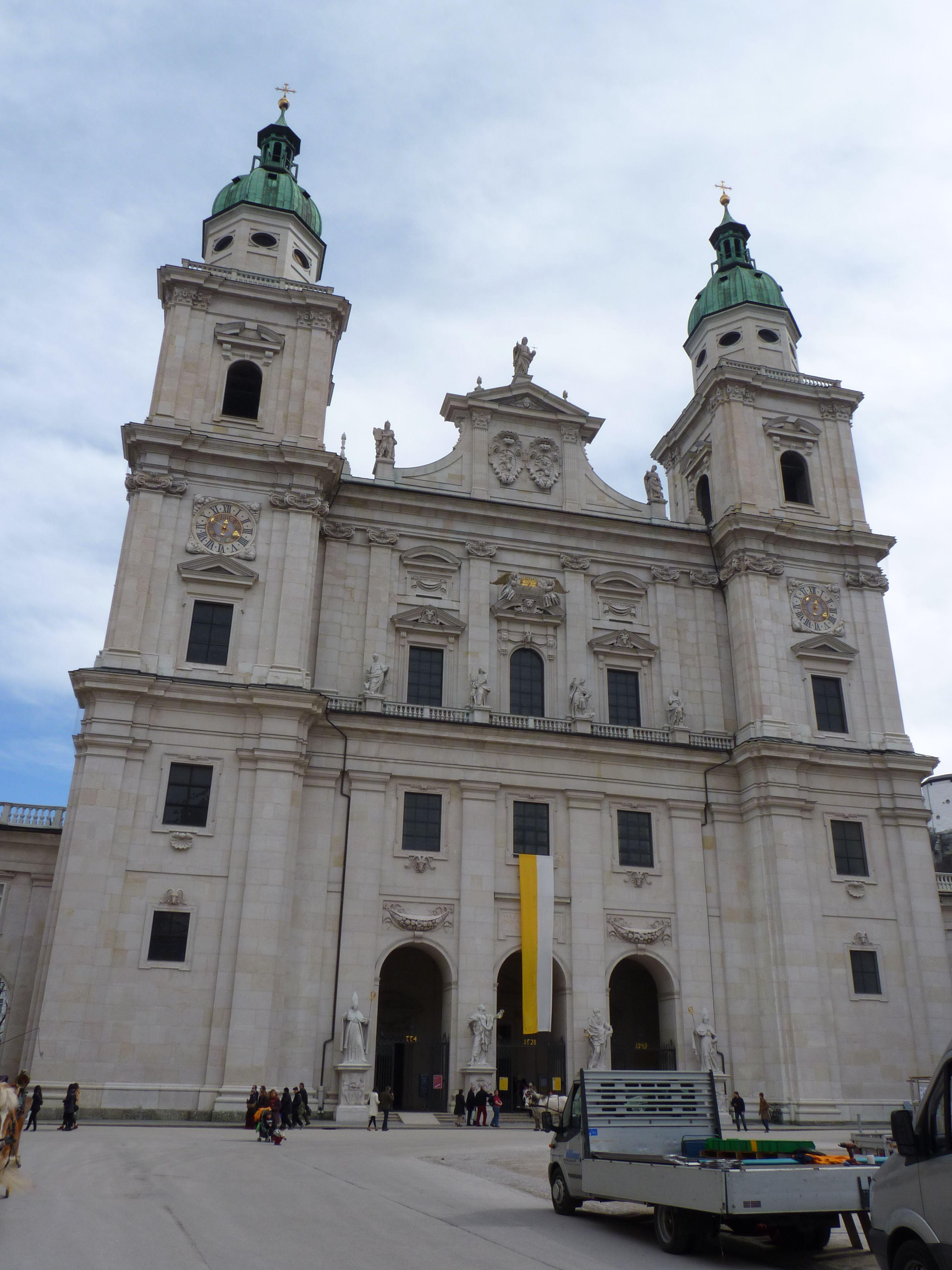 Salzburgo, Catedral.