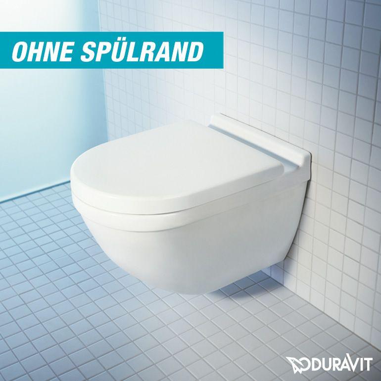 Duravit Starck 3 Wand-Tiefspül-WC rimless weiß mit Wondergliss ...