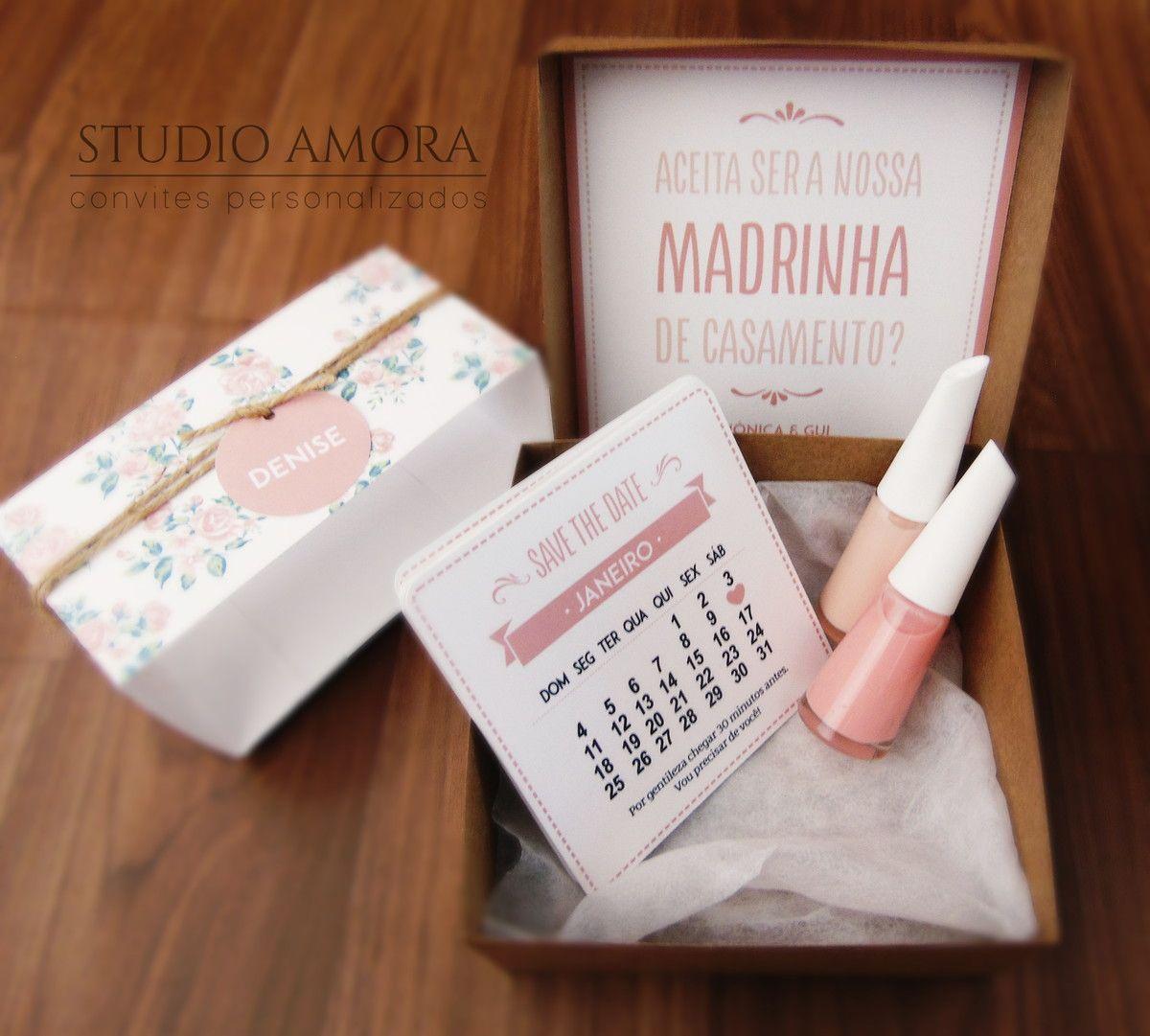 Bonequinhas Convite Madrinhas Convite Madrinhas Madrinha E Convites