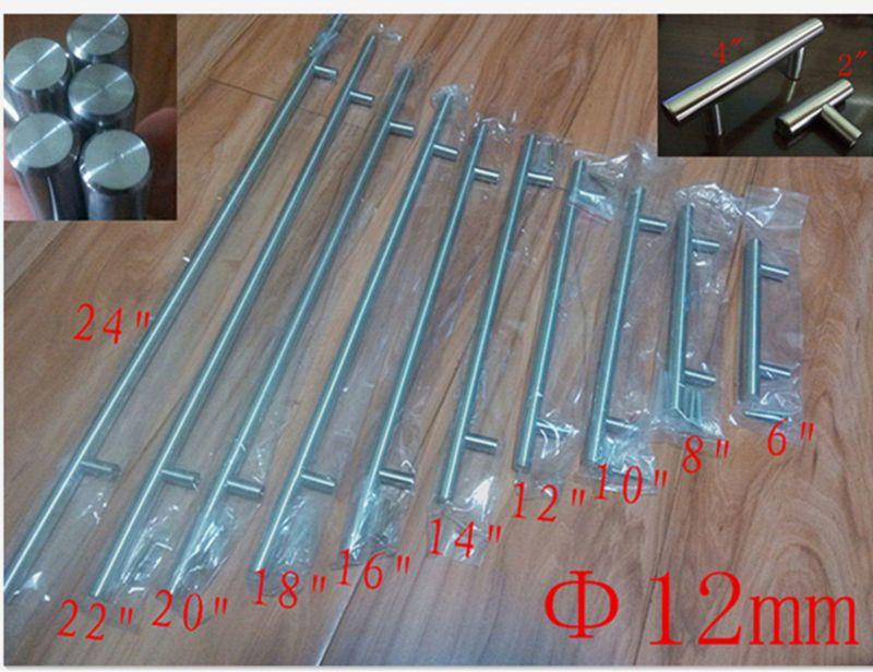 Diameter 12mmStainless Steel Kitchen Door Cabinet T Bar Hand …