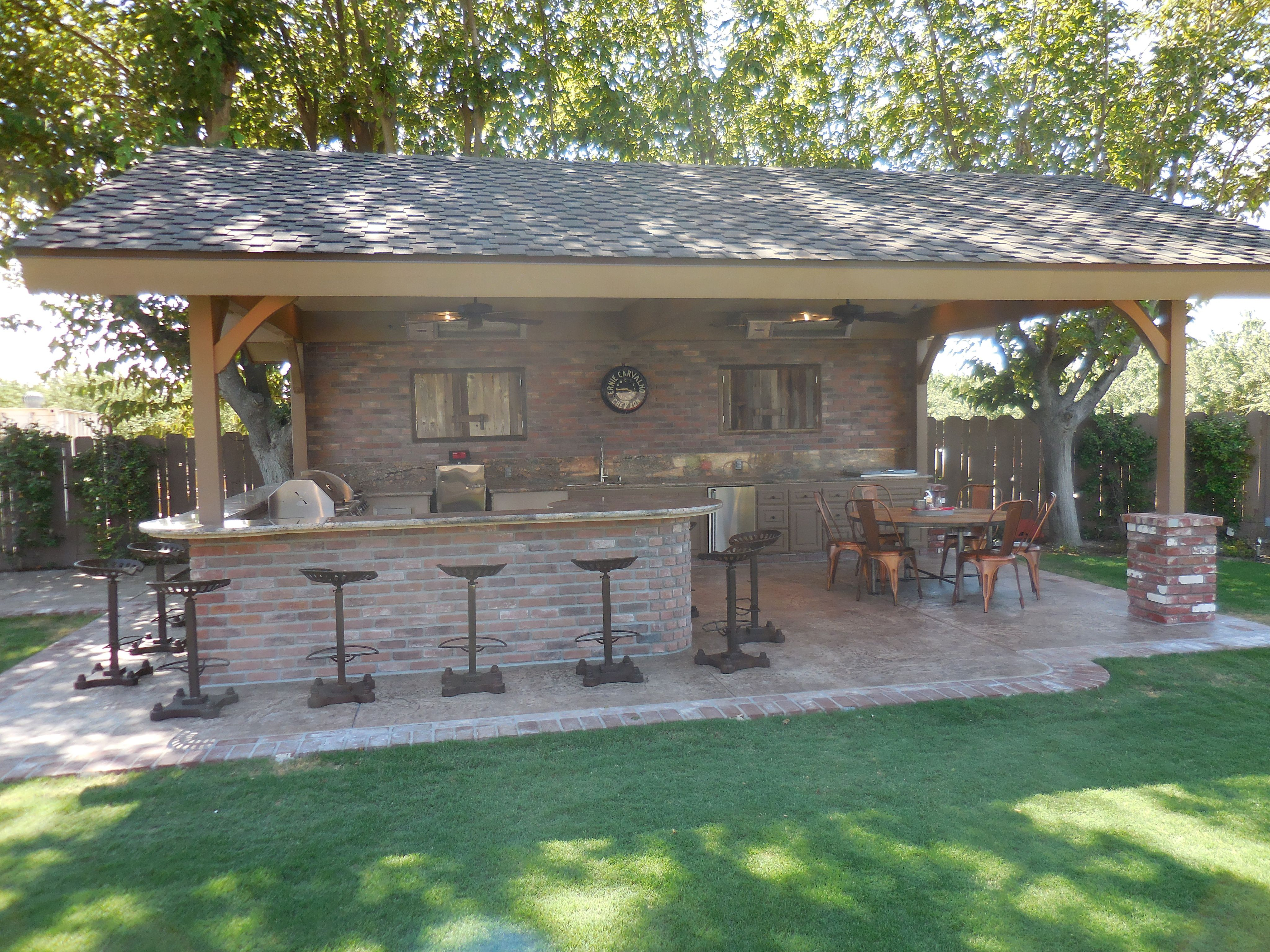 Western style Outdoor Kitchen by Homecrafters. They will be at the ...