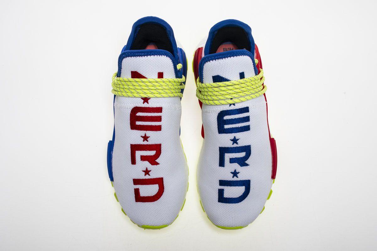 d8dd9f4f1a194 Pharrell x Adidas Hu NMD Nerd Creme X PW Hu NMD Nerd EE6283 Real Boost7