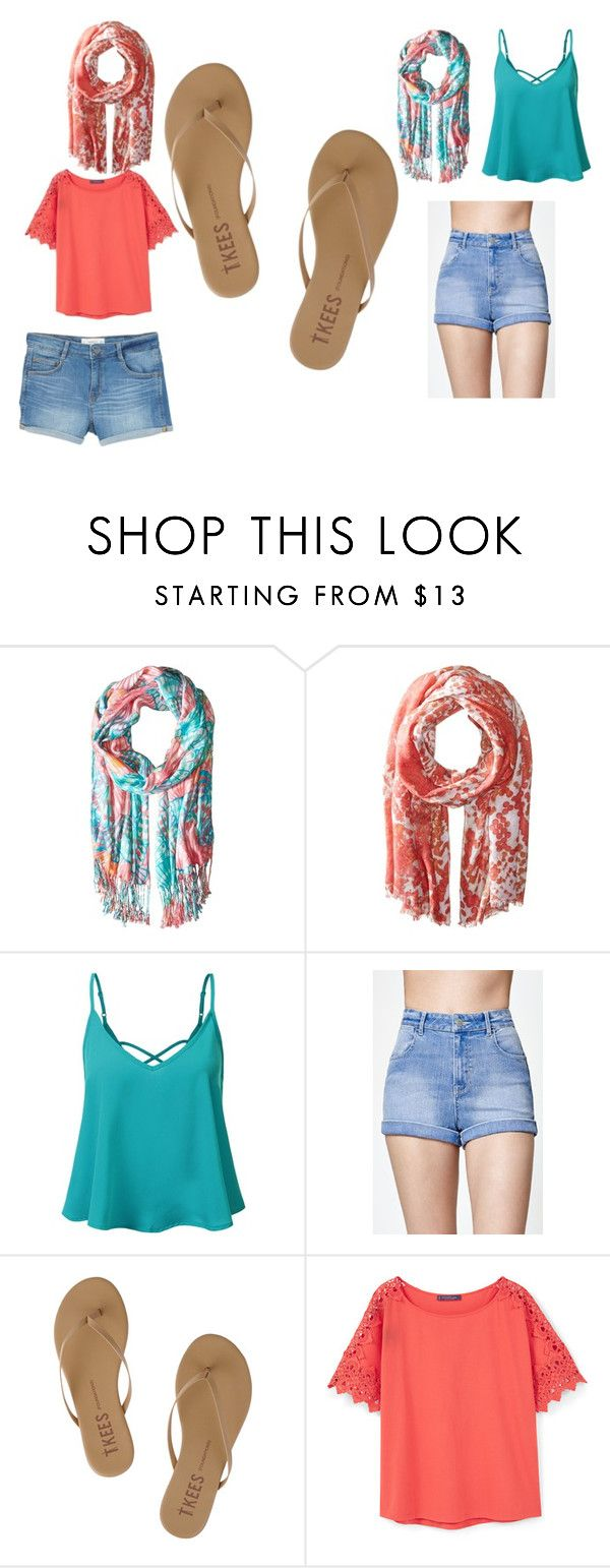 """""""summer time"""" by colonkairee on Polyvore featuring Lilly Pulitzer, Michael Stars, Kendall + Kylie, Tkees and MANGO"""