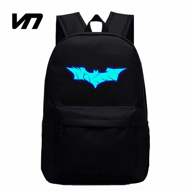 Superman Batman Spiderman Iron Man The Avenger Boy Girl Book School Bag Women Bagpack Teenagers Schoolbags Men Student Backpacks Luggage & Bags Backpacks