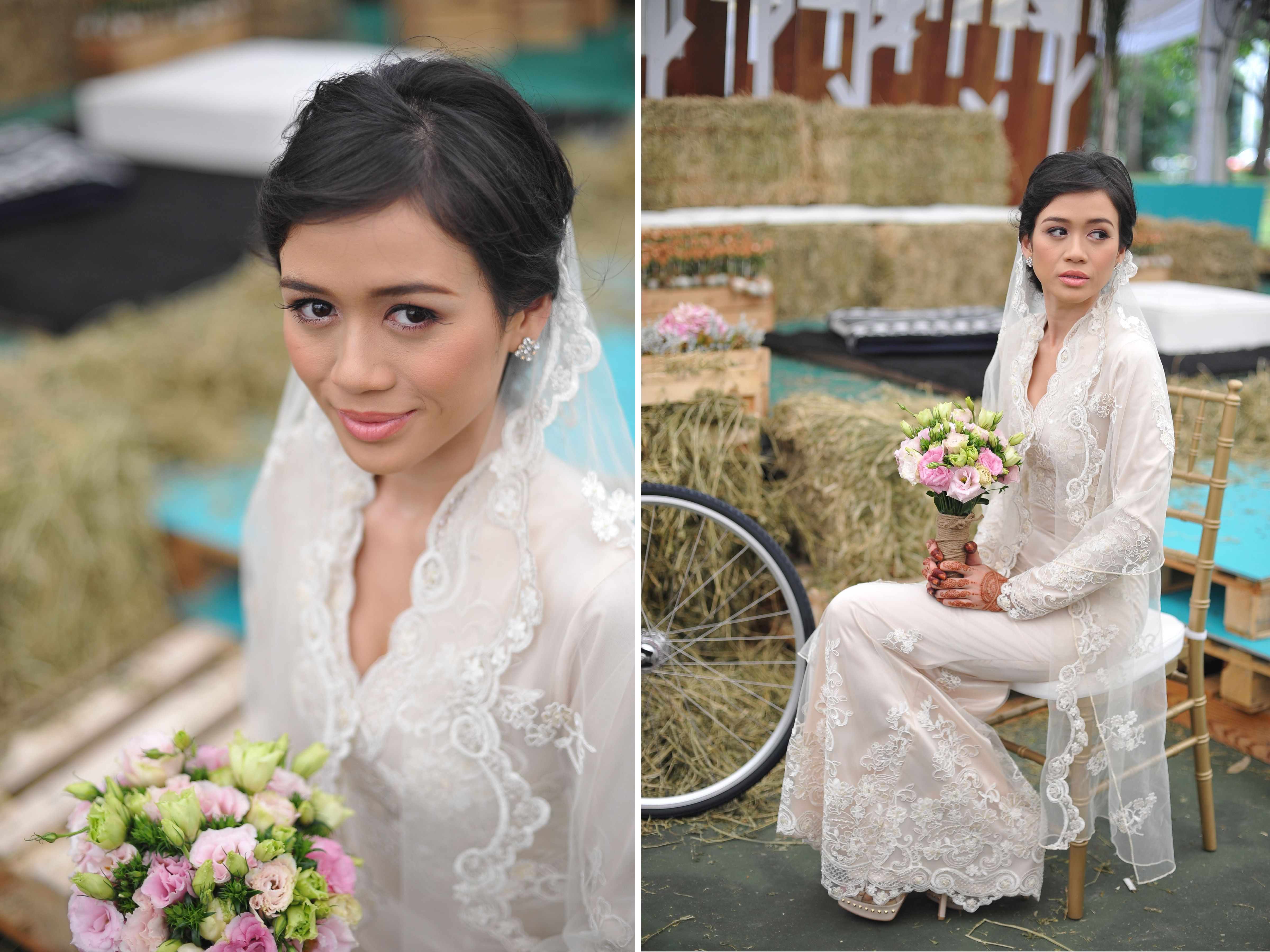 Malay Bride Singapore Alia Bastaman Kuala Lumpur Rustic Vintage Wedding Wedding Shots Bridal Outfits
